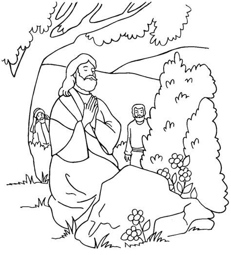 Dibujos de jesus orando para imprimir   Imágenes para Pintar