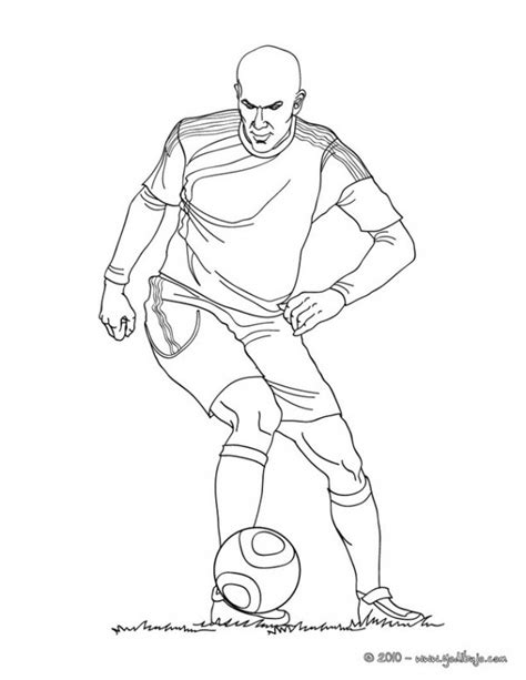 Dibujos de jugadores de fútbol famosos para pintar: Messi ...