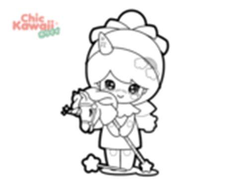 Dibujos de Kawaii para Colorear   Dibujos.net