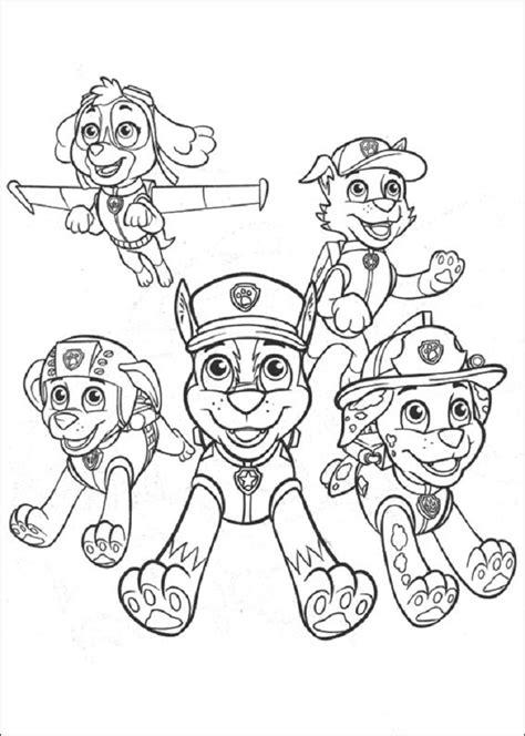 Dibujos de La Patrulla Canina para colorear, Paw Patrol