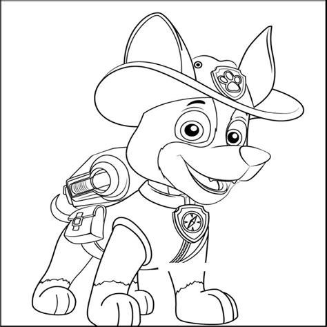Dibujos De La Patrulla Canina Para Imprimir Y Colorear
