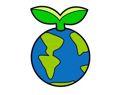 Dibujos de La Tierra para Colorear - Dibujos.net