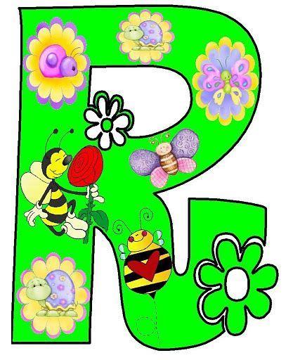 Dibujos de letras de primavera para imprimir , aqui las ...