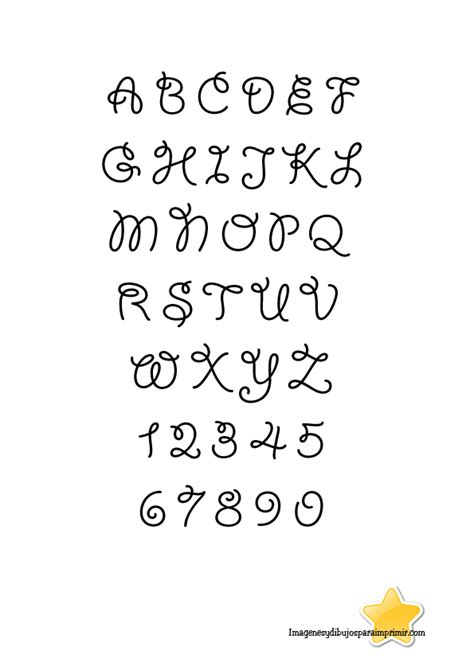 Dibujos de letras para bordar gratis   Imagui
