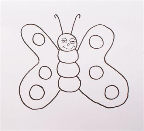 Dibujos de mariposas - Cómo dibujar una mariposa