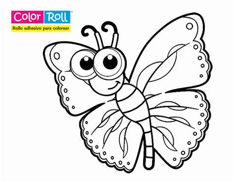 Dibujos de Mariposas para Colorear - Dibujos.net