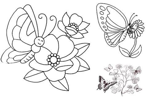 Dibujos Mariposas Para Pintar Cantineoqueteveo