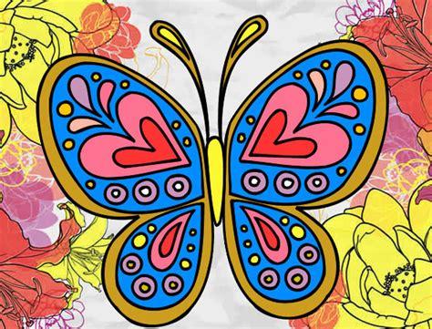 dibujos de mariposas para colorear | Imagenes De Mariposas