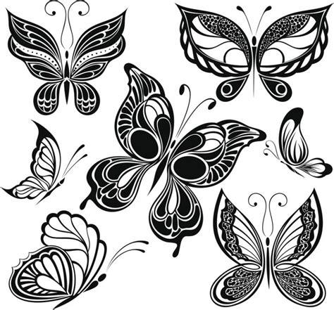 Dibujos de mariposas para tatuajes - VIX
