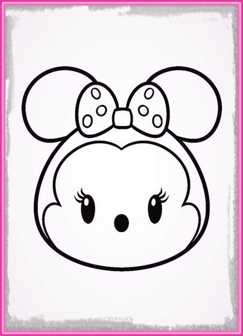 dibujos de minnie mouse para pintar e imprimir Archivos ...