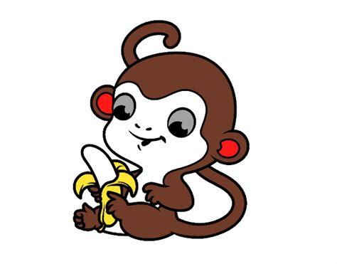 Dibujos de Monos para Colorear - Dibujos.net