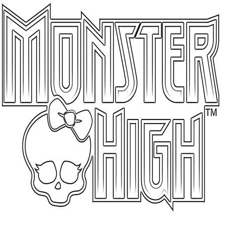 Dibujos De Monster High Para Colorear E Imprimir