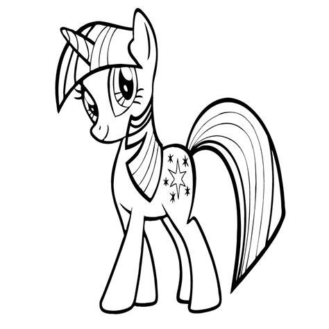 Dibujos De My Little Pony Para Colorear Pintar E Imprimir ...