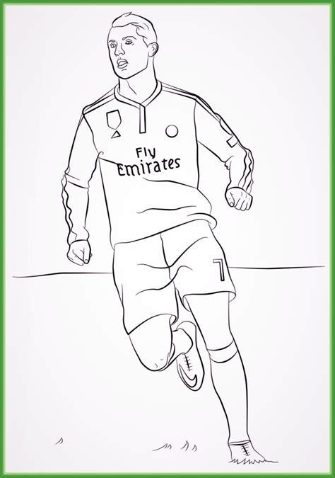 Dibujos De Futbolistas Para Imprimir Cantineoqueteveo