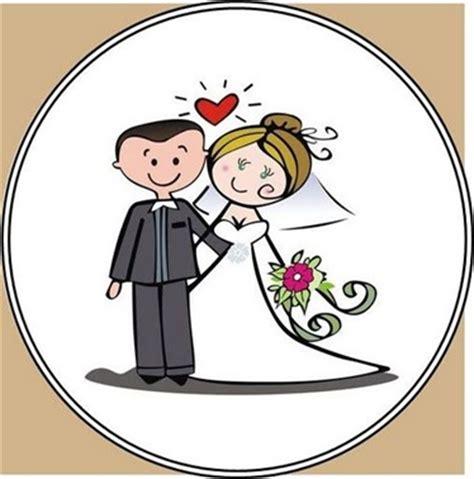 Dibujos de novios de bodas frases amor | imagenes y frases ...