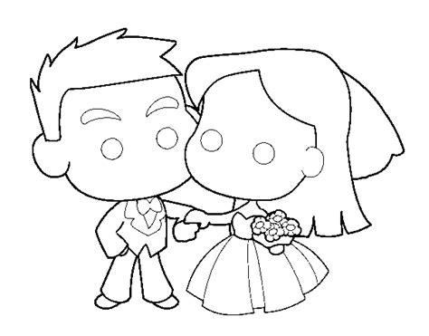 Dibujos de novios de matrimonio   Imagui