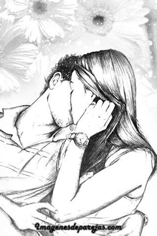 Dibujos De Enamorados A Lapiz Seonegativo Com