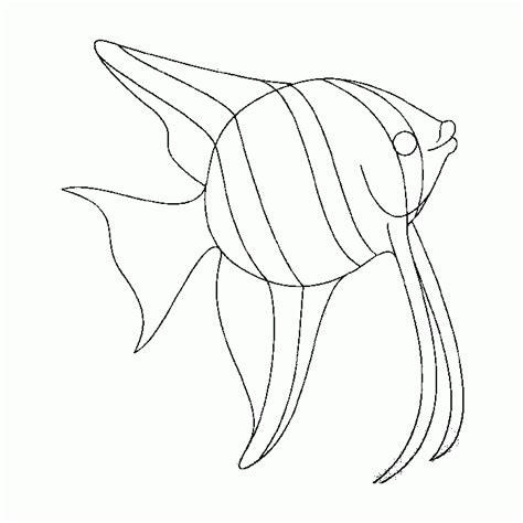 Dibujos de peces exóticos para pintar :: Imágenes y fotos