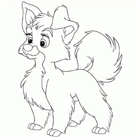 Dibujos de Perritos para colorear ~ Dibujos para Niños