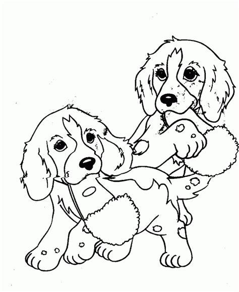 Dibujos de perros cachorros para colorear | Colorear imágenes