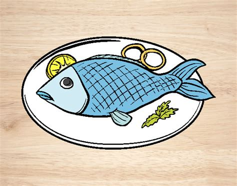 Dibujos de Pescado para Colorear   Dibujos.net