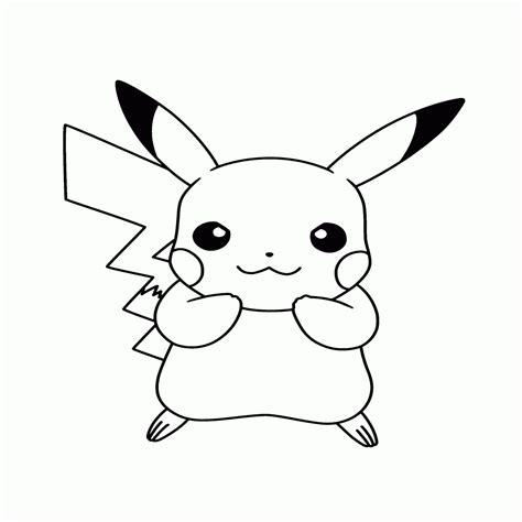 Dibujos De Pikachu Para Colorear E Imprimir Gratis ...
