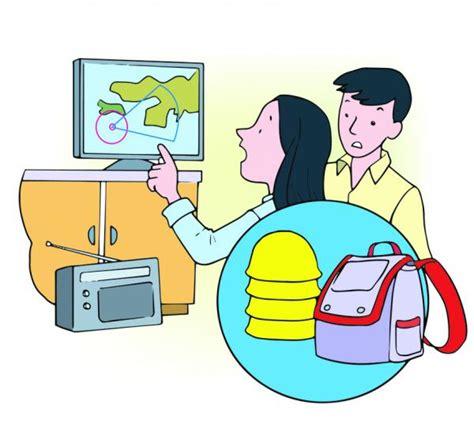 Dibujos De Prevencion De Desastres | sistema del vector de ...