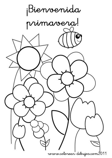 Dibujos de Primavera para imprimir y colorear   Colorear ...