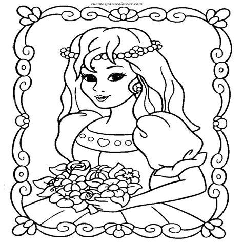 Dibujos De Princesas Disney Para Colorear En El ordenador