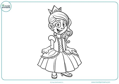 Dibujos de Princesas para colorear   Mundo Primaria