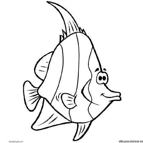 Dibujos de un pez para colorear