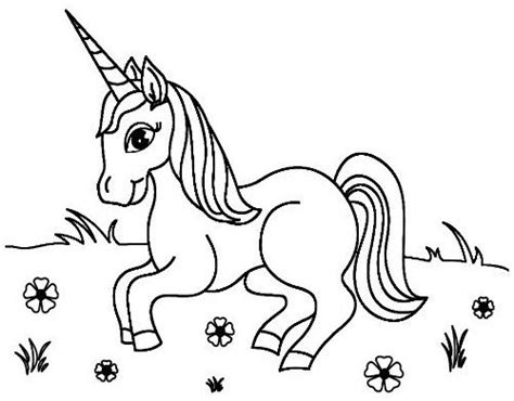 dibujos de unicornios para colorear : Drawing Board Weekly