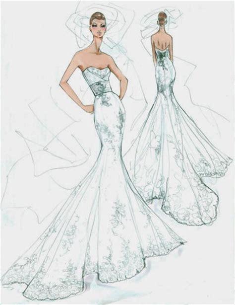 Dibujos de Vestidos de Novia. | Oh My Bodas!