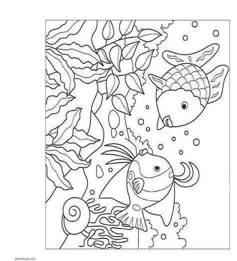 Dibujos del fondo marino para colorear