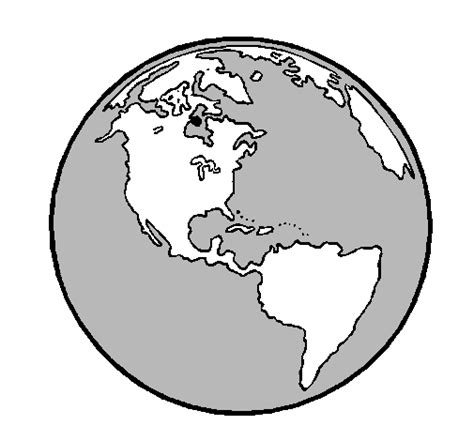 Dibujos del planeta tierra para colorear e imprimir   Imagui