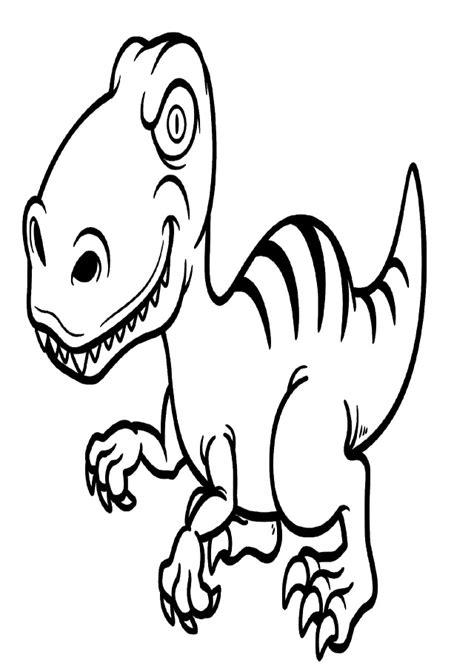 dibujos dinosaurios para colorear - Dibujos para colorear