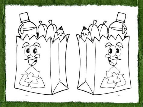 Dibujos educativos para pintar y enseñar a reciclar a los ...