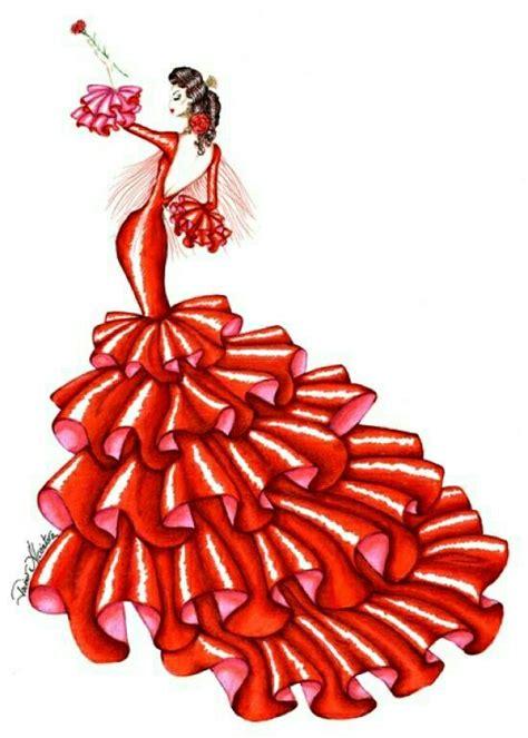 Dibujos flamencas - Imagui