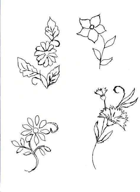 Dibujos flores para bordar   Imagui | flores | Pinterest ...