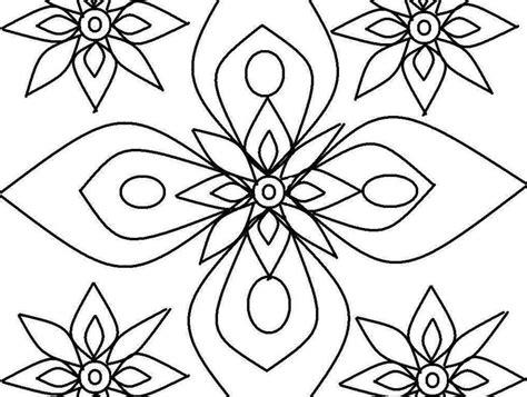 Dibujos geométricos para colorear e imprimir gratis  Foto ...