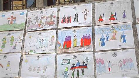 dibujos infantiles de semana santa de aspe - YouTube