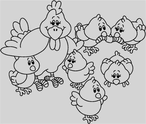 Dibujos Infantiles Para Colorear Animales Los Mas Pequenos ...