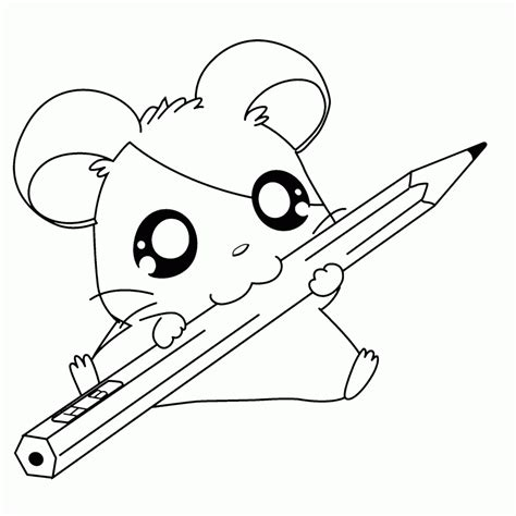 Dibujos Kawaii Para Colorear Y Imprimir