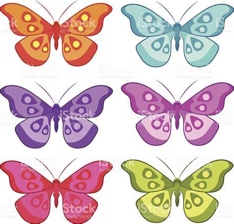 Dibujos Mariposas De Colores. Imprimir Imagenes De ...