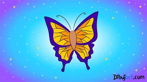 Dibujos Mariposas De Colores. Perfect Dibujos De Mariposas ...