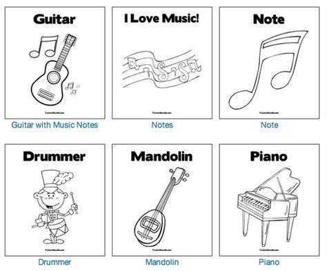 Dibujos Musicales para imprimir y colorear | Recursos ...