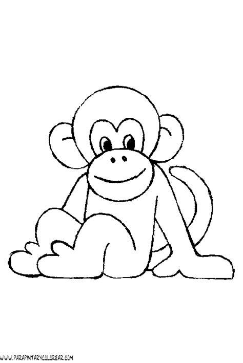 Dibujos Para Colorear Animales Mono ~ Ideas Creativas ...