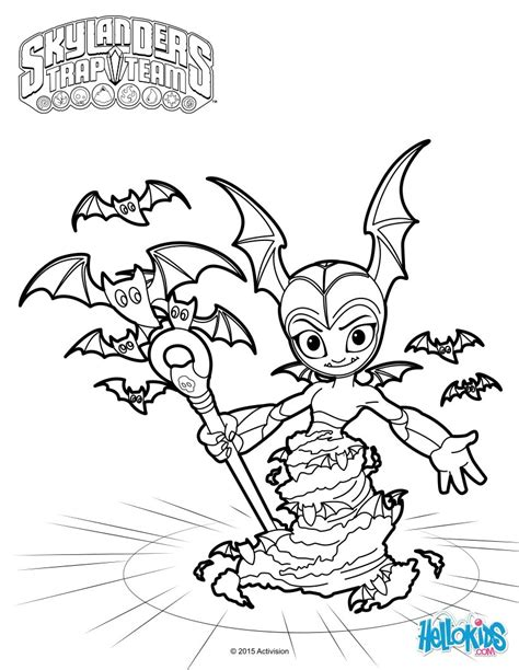 Dibujos para colorear bat spin   es.hellokids.com