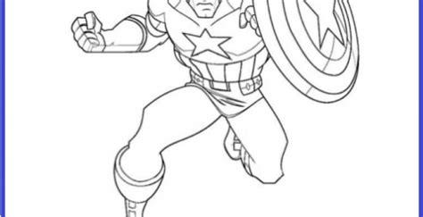 Dibujos Para Colorear De Capitan America | Imagenes Para ...