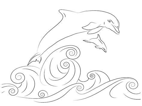 Dibujos Para Colorear De Delfines Rosados ~ Ideas ...